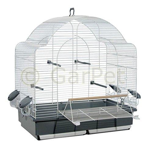 GarPet Vogelkäfig Wellensittich Großsittich Papagei Käfig...