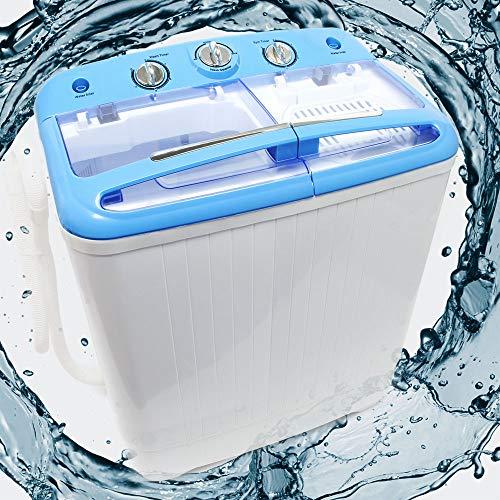 Wiltec Camping Waschmaschine für bis zu 5,2 kg für...