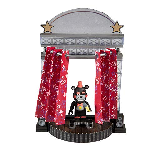 McFarlane Toys Five Nights at Freddy's Star Curtain Stage Small Construction Set