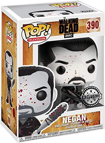 Pop Figur The Walking Dead Negan Black & White Exclusive