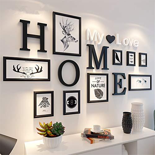 HAOLY Kreative Fotorahmen Wand,Foto-Collage-Rahmen,fotowand...