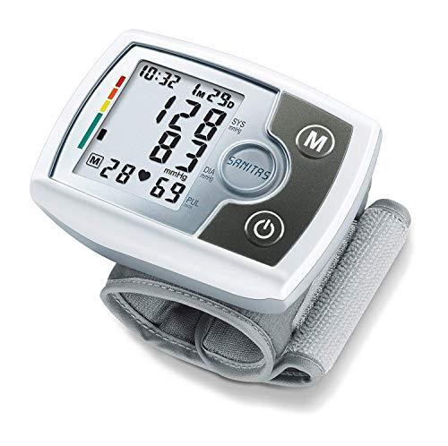 Sanitas SBM 03 vollautomatisches Handgelenk-Blutdruckmessgerät,...