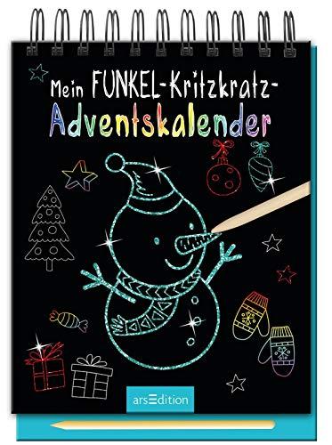 Mein Funkel-Kritzkratz-Adventskalender: Ein zauberhafter...