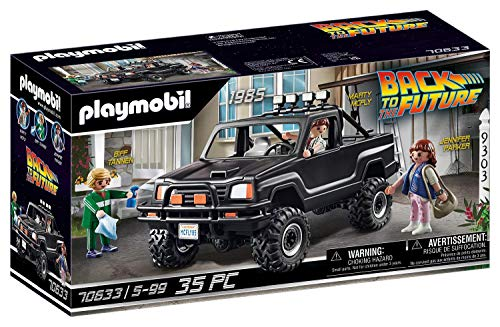 PLAYMOBIL Back to the Future 70633 Marty's Pick-up Truck, Ab 5...