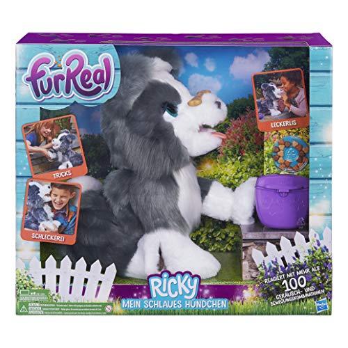 Hasbro FurReal Friends E0384100 Ricky, Mein Schlaues Hündchen,...