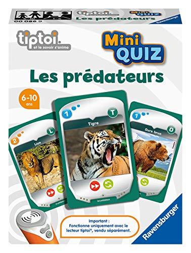 Ravensburger tiptoi® Mini Quiz Interaktives Spiel – Raubtiere...