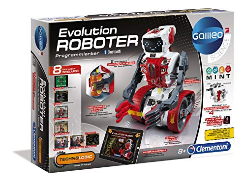 Clementoni 59031 Galileo Science – Evolution Roboter, Robotik...