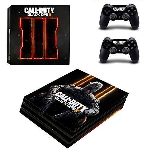 PS4 Pro Call of Duty Black Ops III 3 Konsole Skin Decal, Vinyl,...