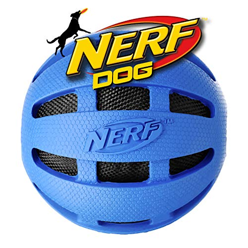 Nerf Dog VP6619E Crunchable Squeak Checker Ball - Gummikauball...