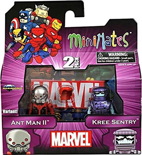 Marvel Minimates Doppelpack Serie 44: Ant Man II & Kree Sentry...