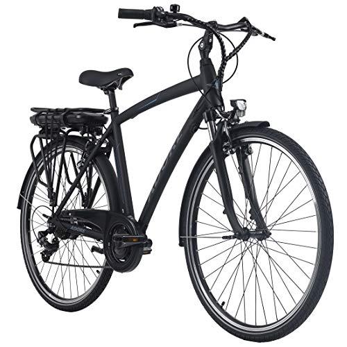 Adore Alu E-City Bike Herren Versailles 28'' schwarz 250Watt...