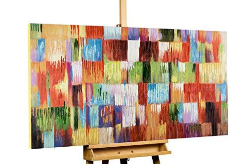 KunstLoft® Acryl Gemälde 'Eine Hommage ans Leben' 140x70cm |...