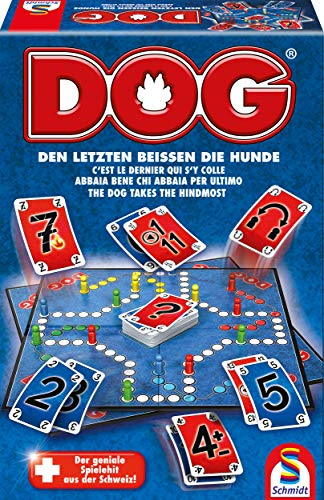 Schmidt Spiele 10V61015442V10 49201 Dog, Den letzten beissen die Hunde,...