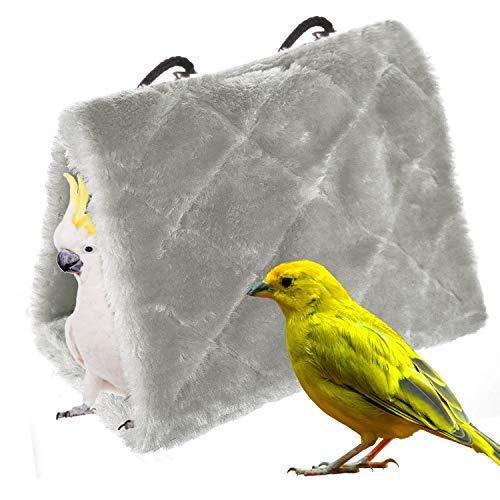 Vogel Papagei Hängematte hängen Höhle Käfig Vogelnest Plüsch...