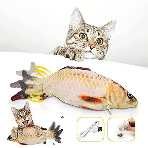 Katzenspielzeug Fisch Elektrisch, Zappelnder Fisch...