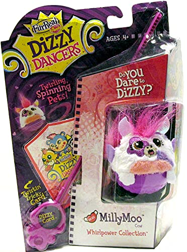 FurReal Friends Dizzy Dancers Whirlpower Collection MillyMoo