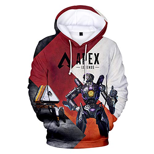 Pmnnnelpo Apex Legends Sweatshirts Cosy Sweater Lässiger...