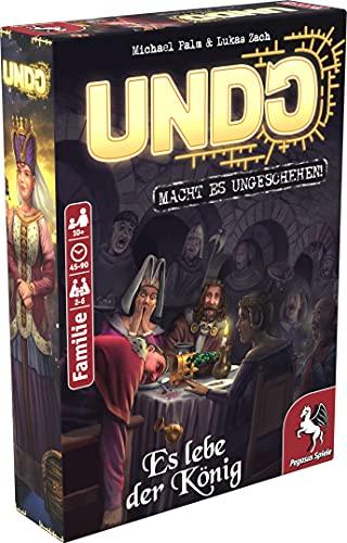 Pegasus Spiele 18178G - UNDO – Es lebe der König