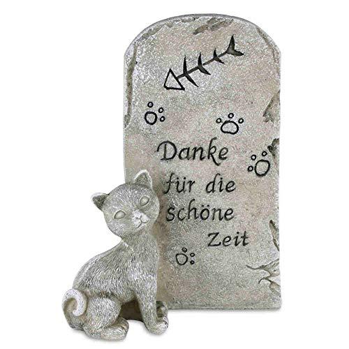 kruzifix24 Devotionalien Katzen Grabstein Tiergrabstein Kätzchen...