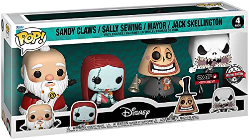 The Nightmare Before Christmas Sandy Claws/Sally...