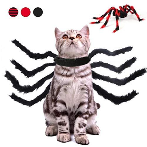 Haustier-Halloween-Kostüm, Spinnen-Kostüm, lustig, tragbar,...