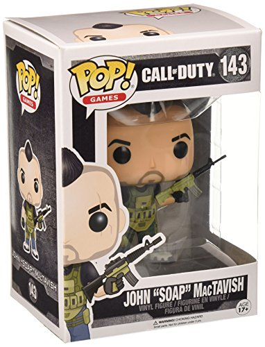 Funko 11849 POP Vinylfigur: Call of Duty: John 'Soap' Mactavish,...