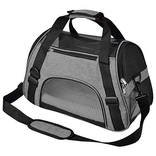 CUBY Katzentragetasche,Hundetasche,Transporttasche für...