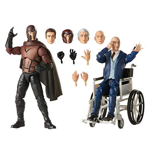 Hasbro Marvel Legends Series X-Men Magneto und Professor X 15 cm große Action-Figuren, ab 14...