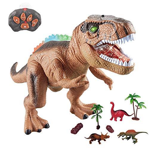 WISHTIME Fernbedienung Dinosaurier ElectricToy Kinder RC...