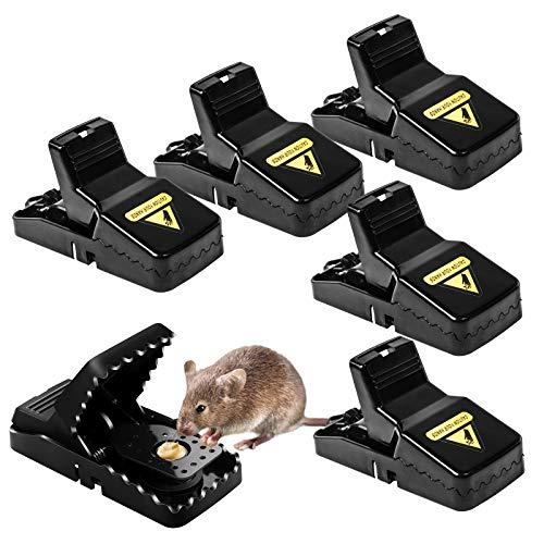 Mausefalle, Wiederverwendbare Sofort Töten Rattenfallen...