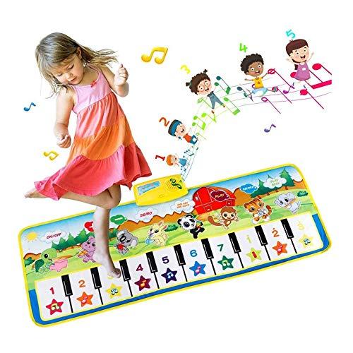 EXTSUD Piano Mat Tanzmatten Klaviermatte Musikmatte Kinder 8...