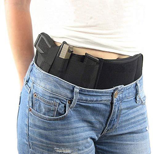 Verstecktes Pistolenhalfter mit Bauchgurt, Tragbarer taktischer...