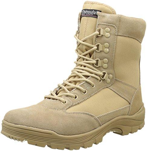 Mil-Tec Tactical Boot mit YKK-Zipper 45,Khaki