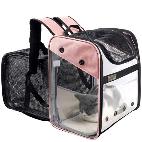 Transporttasche Rucksack Haustiere Hunde Katzen - Erweiterbare...