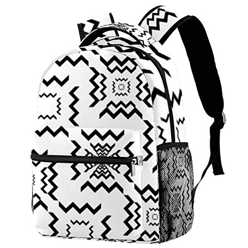 Labyrinth Muster Spiel Reise Laptop Rucksack, Casual Durable...