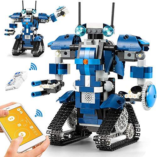 CIRO Programmierbarer and Ferngesteuerter Roboter Steuerung per APP und Fernbedienung STEM...