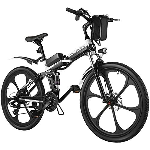ANCHEER Elektrofahrrad 26Zoll/20Zoll Zoll E- Bike Mountainbike,...