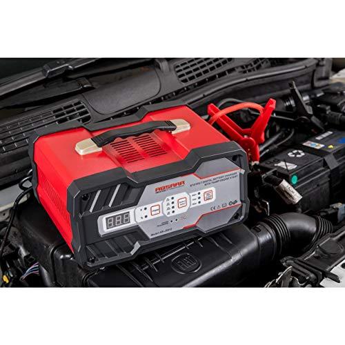 Absaar AB-JS012 158006 Batterie-Ladegerät mit Starthilfe 12A...