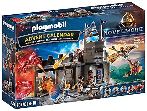 PLAYMOBIL Adventskalender 70778 Novelmore 'Darios Werkstatt' mit...