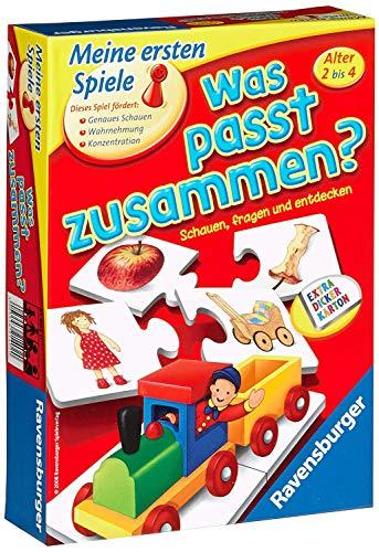 Ravensburger 21402 - Was passt zusammen? - Puzzelspiel für...
