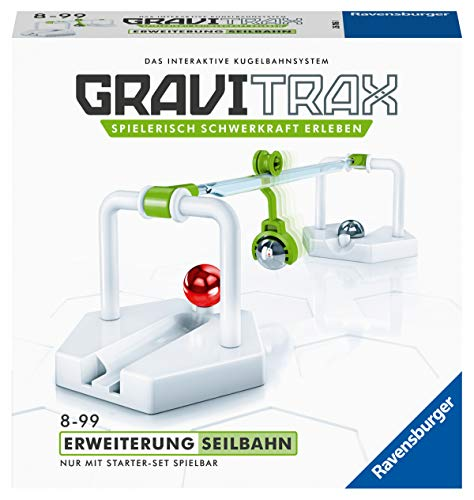 Ravensburger GraviTrax Erweiterung Seilbahn - Ideales Zubehör...