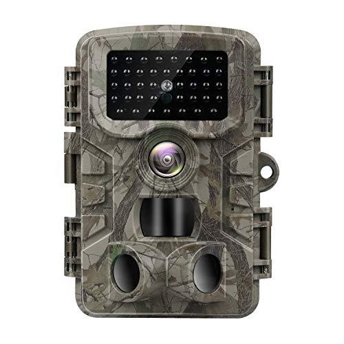 VANBAR Wildkamera 20MP 1080P Full HD Wildkamera mit...