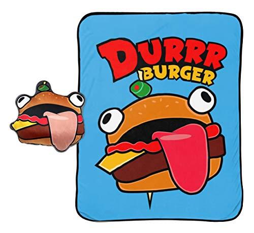 Jay Franco Durrr Burger Nogginz Set, Fortnite, Blau, 2-teilig