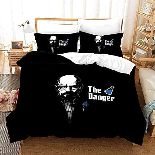 Breaking Bad Duvet Cover Bettwäsche Set - Bettbezug und Zwei...