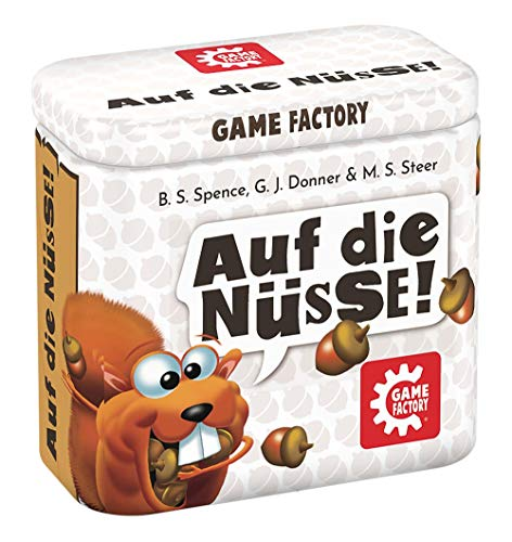 Game Factory 646273 Auf die Nüsse, das knackige Würfelspiel,...