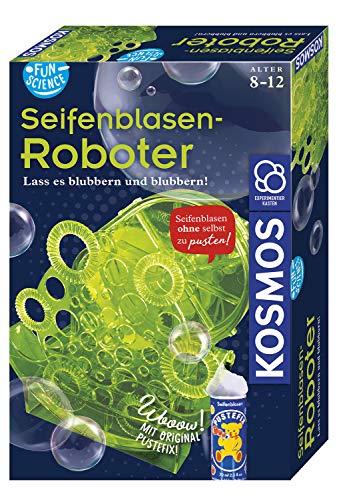 Kosmos 654122 Fun Science Seifenblasen-Roboter, Schillernde...