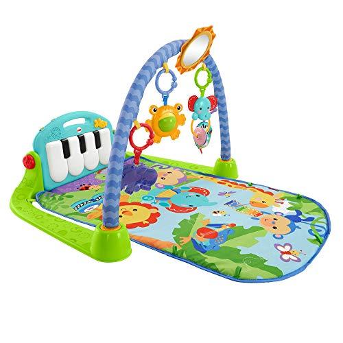 Fisher-Price BMH49 - Rainforest Piano Gym Baby Spieldecke mit...