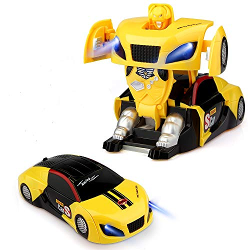 Baztoy Ferngesteuertes Roboter,Auto, Kinderspielzeug Transform...