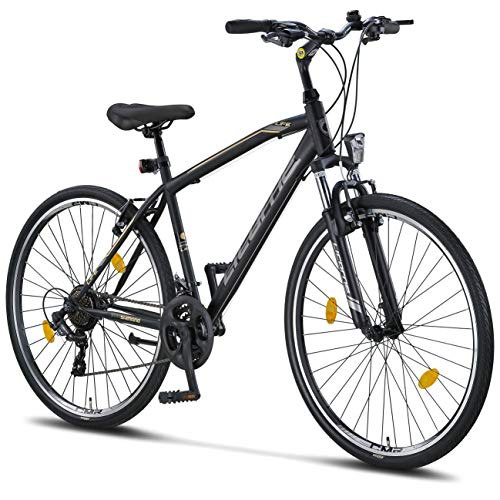 Licorne Bike Premium Trekking Bike in 28 Zoll - Fahrrad für...