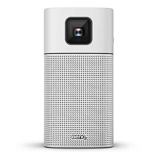 BenQ Mini LED Beamer GV1 mit Bluetooth-Lautsprecher, WLAN, HDMI...